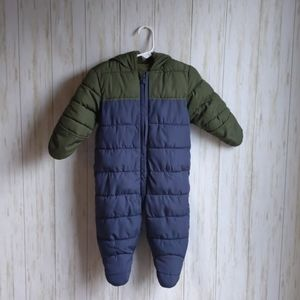 Old Navy Quilted Water-Resistant Snowsuit for Baby